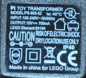 LEGO adapter partno 94164