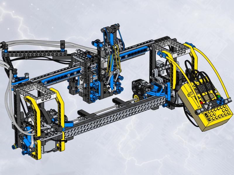 Mindstorms Ultimate Builders Set 3800 Instructions Pbrickfo